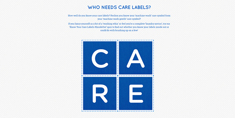 Who needs care labels?   Love Your Clothes