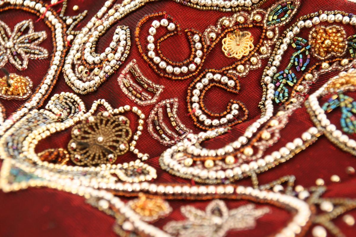 b197cec5 Fabric Focus – Fabrics embellished with beads & sequins | Love Your ...