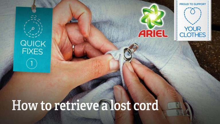 How to retrieve a lost cord