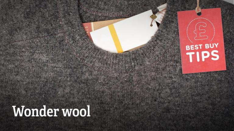 "Text: ""Wonder wool."""