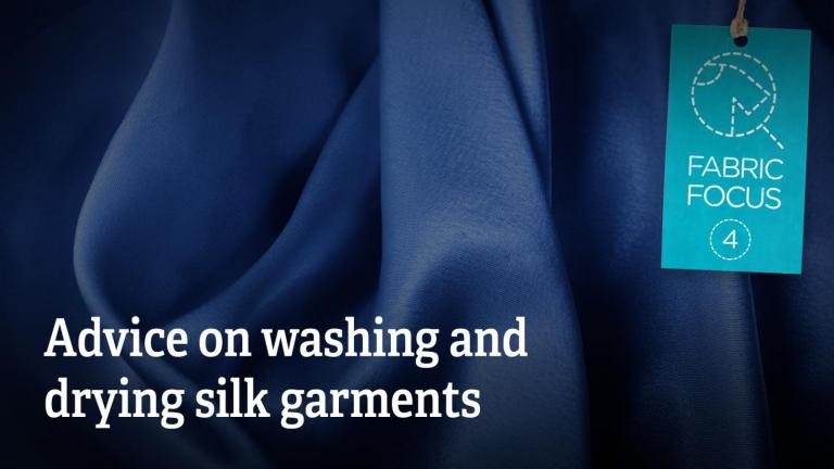 Advice on washing and drying silk garments