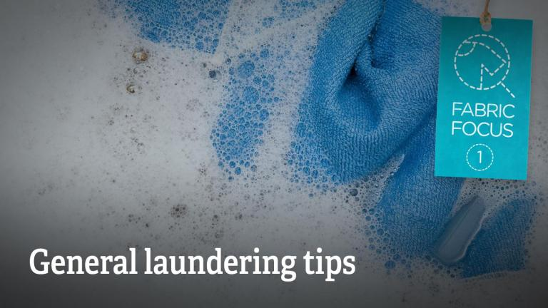 General laundering tips